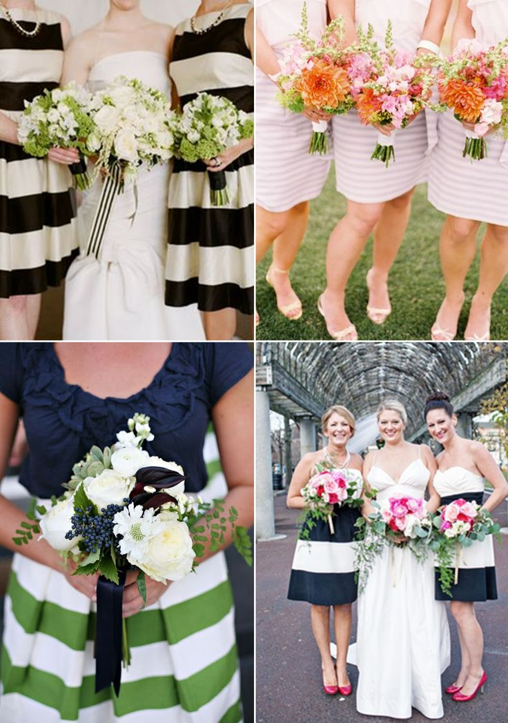 Bridesmaid Style: fun & flirty stripes http://www.theperfectpalette.com/2014/05/bridesmaid-style-stylish-stripes.html
