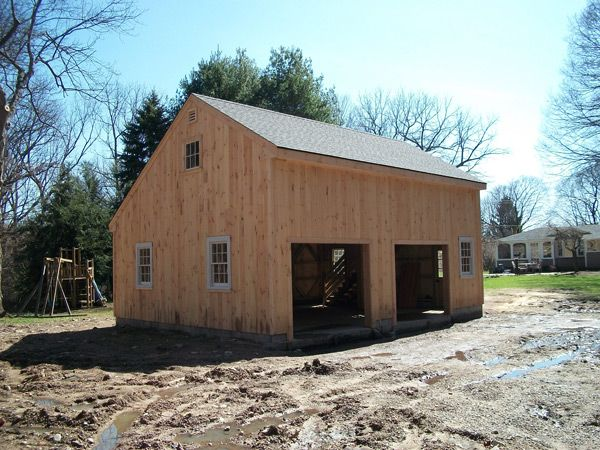 Salt Box Wood Barn Kits Barn Building Kits Timber