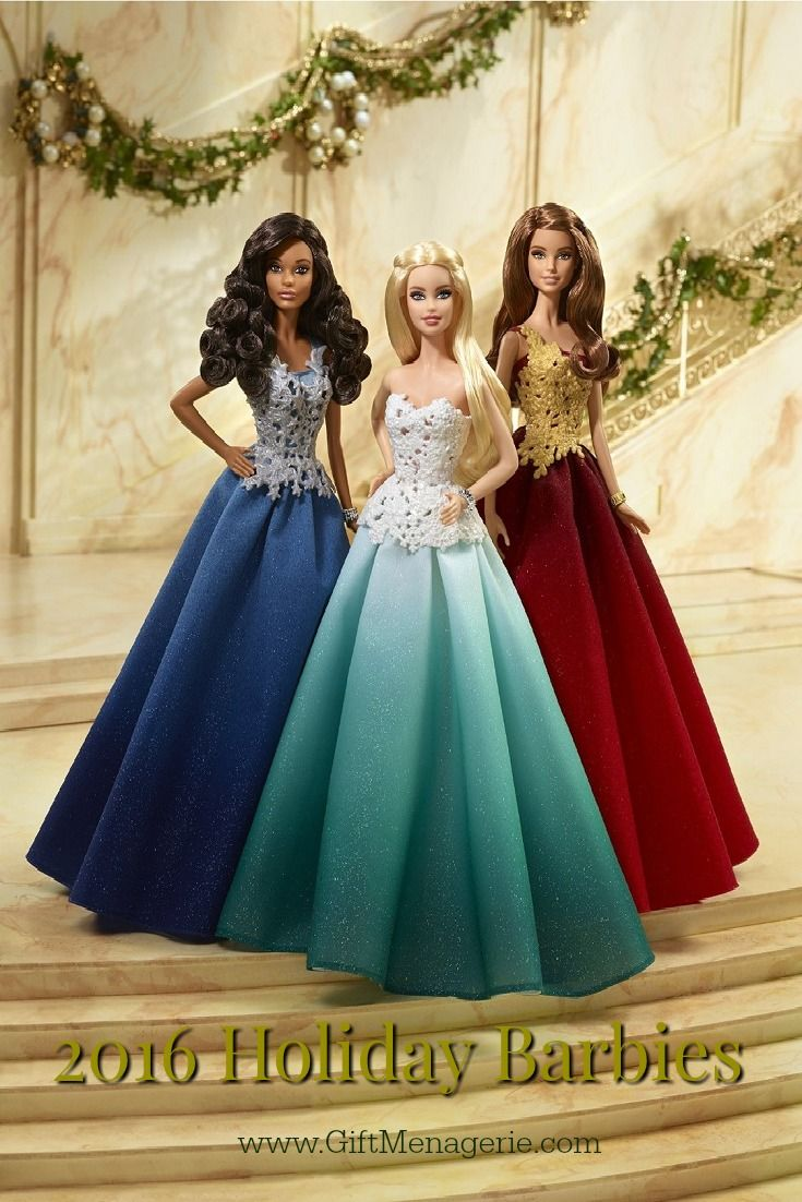 Every year Mattel makes a new Holiday Barbie doll. The gift of the new Holiday…