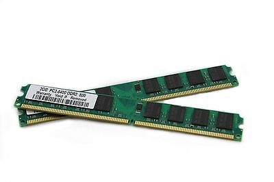 4GB 2x 2Gb Ram Memory DDR2 800 Mhz for Acer Aspire M3200 M3201 M3201-ED5400A