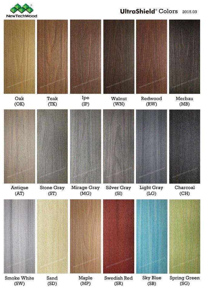 High Quality NewTechWood Ultrashield Colours #decking