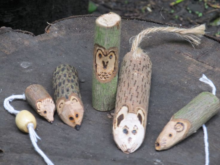 *sticks* Woodland creatures