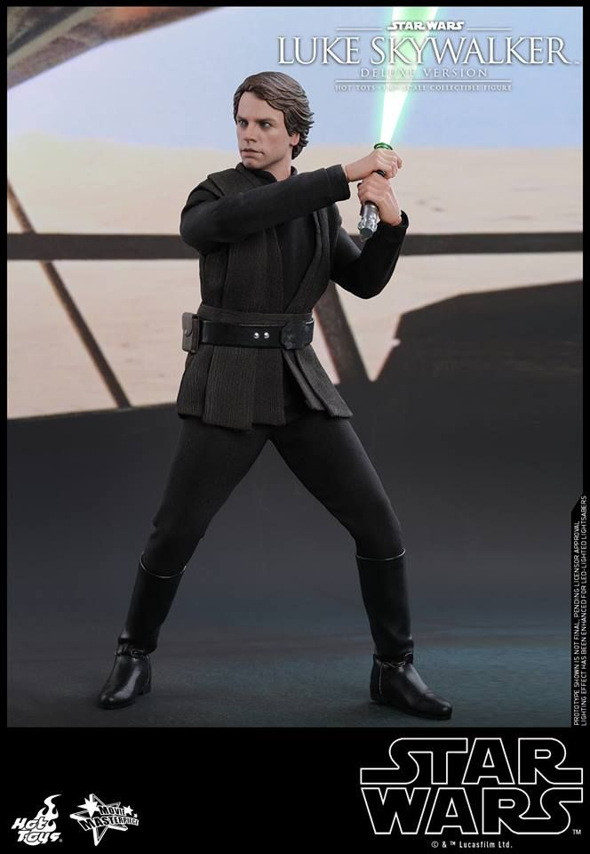 Hot Toys 1 6 Action Figure Star Wars Return Of The Jedi 1 6th Scale Luke Skywalker Collectible F Luke Skywalker Hot Toys Luke Skywalker Luke Skywalker Movie