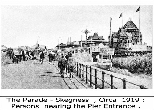Pier entrance 1919