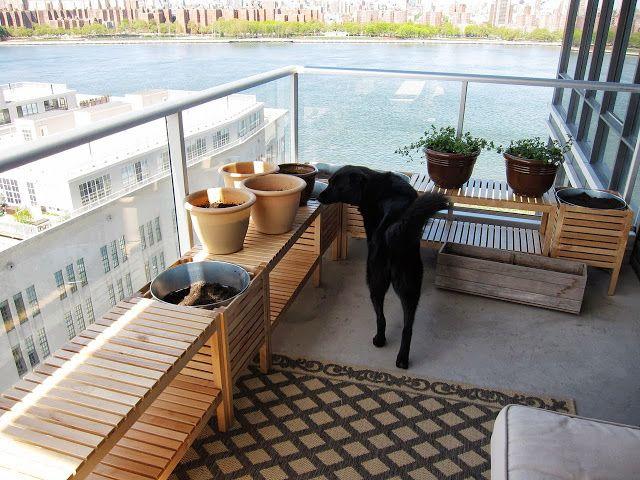 Jardinières de balcon