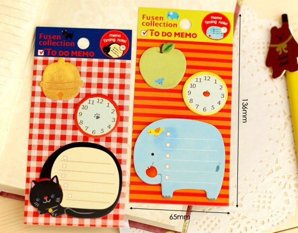 Animal to do, sticky notes. R25. Desk Accessories Product Categories | AmperSand