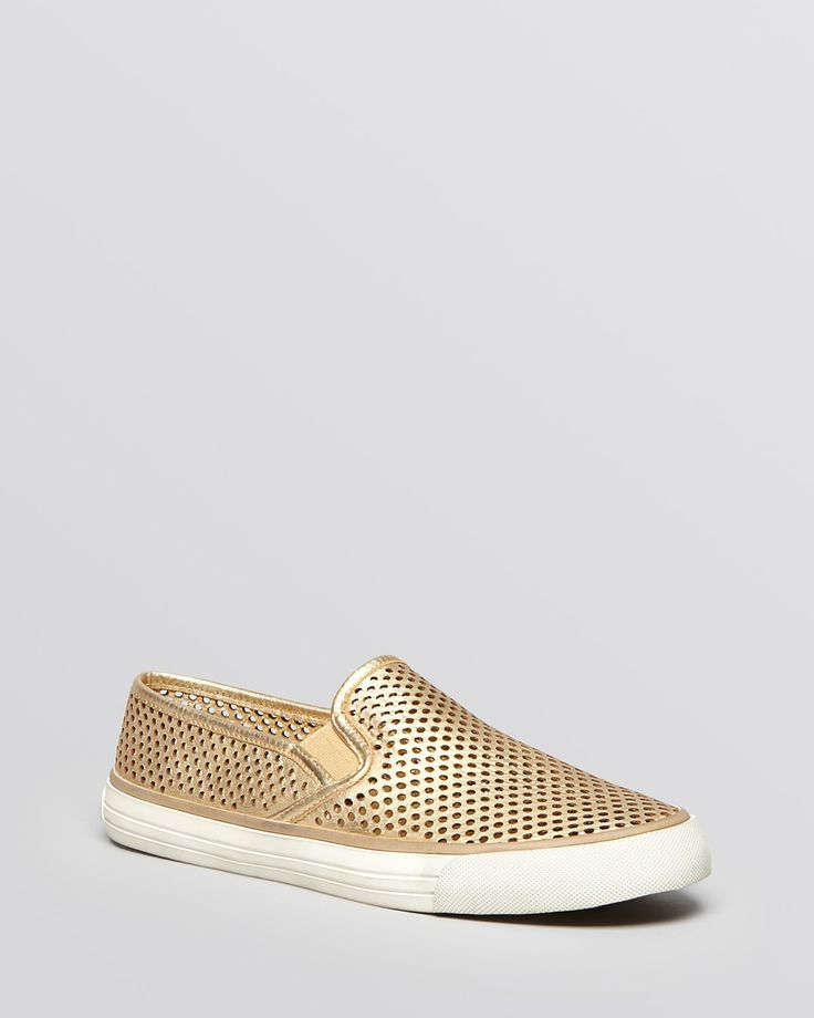 Tory Burch Flat Slip On Sneakers
