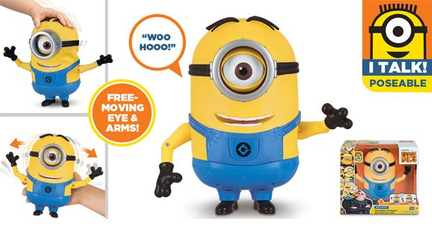 TALKING MINION ACTION FIGURE TALKING STUART