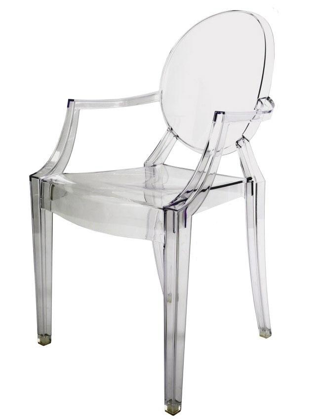 louis ghost chair by philippe stark