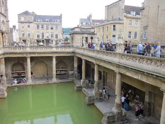 The Roman Baths....beautiful town lost in time.