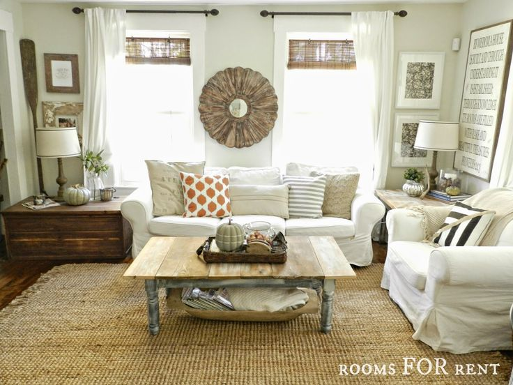 new jute rug in the living room rooms for rent blog exclusive my home pinterest the o. Black Bedroom Furniture Sets. Home Design Ideas