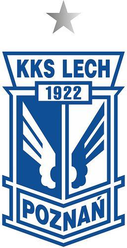 Kolejowy Klub Sportowy Lech Poznań, S.A. (Lech Poznań) | Country: Polska / Poland. País: Polonia. | Founded/Fundado: 1922/03/19 | Badge/Crest/Logo/Escudo.