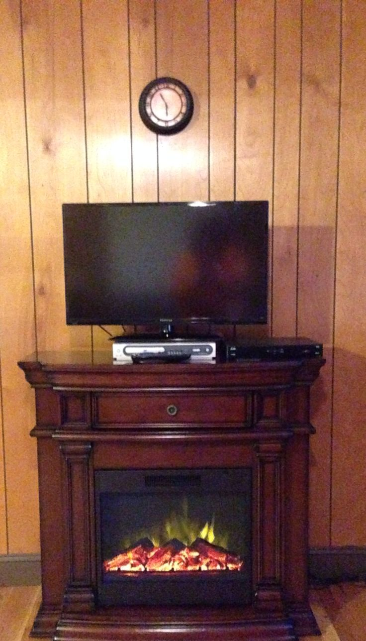 Muskoka alpine 62 in wide electric fireplace tv stand burnished - Electric Fireplace Heater Pigeon Forge Vacation Rental Asbury Cottage Family Friendly 3br 2ba