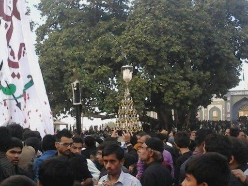 Azadari programme  Shabi Roza Imam Hussain  as Kanodar Gujarat India