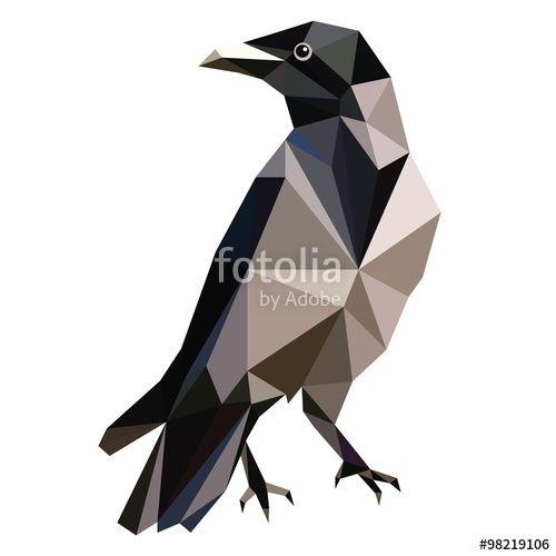 Low Poly Raven