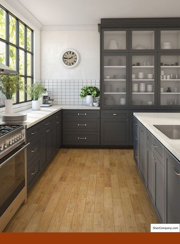 Our collection of Glazing Kitchen Cabinets Diy, Wood Kitchen ...