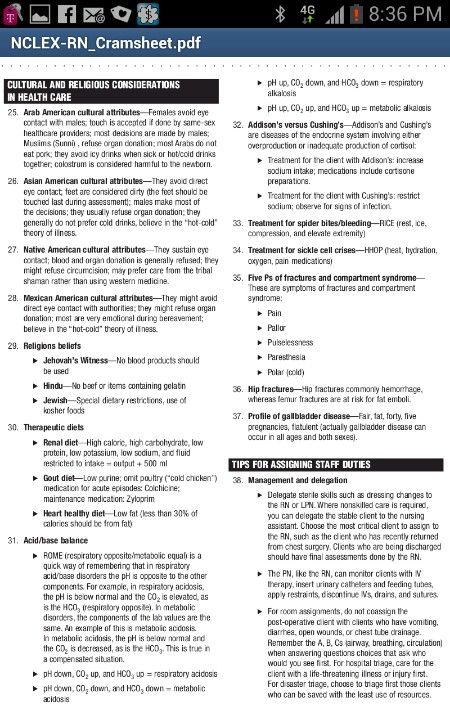 NCLEX RN Study Guide - teachingsolutions.org