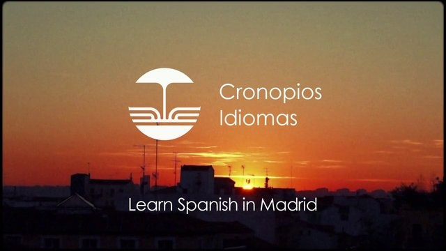 Spanish Courses in Madrid Spot.  Cronopios Idiomas is a school specialized in the teaching of Spanish situated in the heart of the city of Madrid. We are formed from a group of teachers who want to work together to create a different language school, one managed by them.