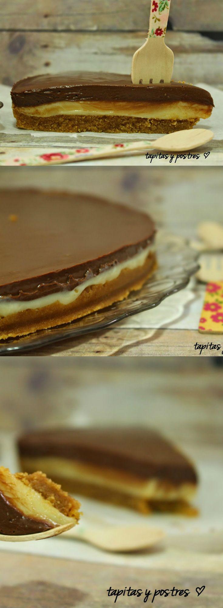 Tarta de leche condensada y chocolate   Tasty Details