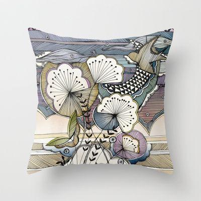 Night Sky Throw Pillow by Jessica Wilde - $20.00