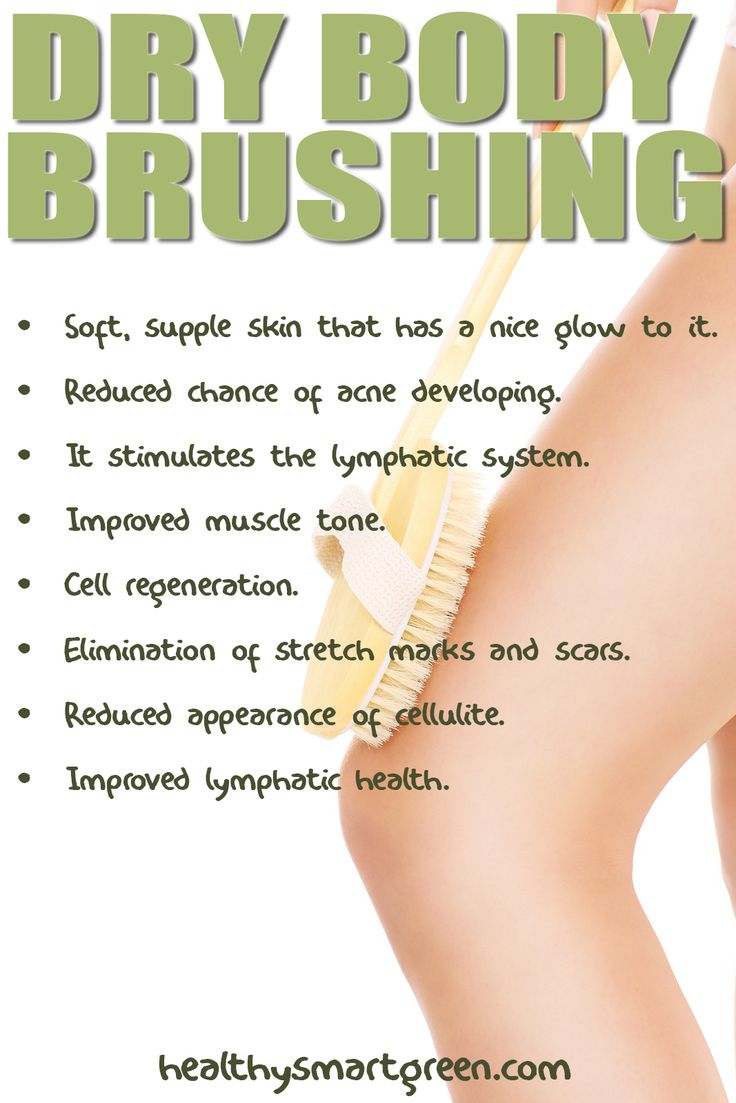 Dry Body Brushing - If you aren't doing this, you should be!