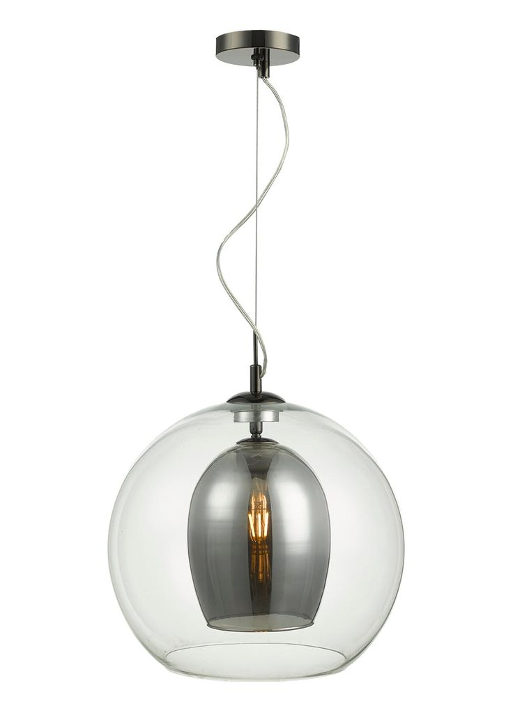 A room is never truly complete without a great lighting feature. This Nordic inspired ceiling light drops into a pendant style from a sleek chrome...