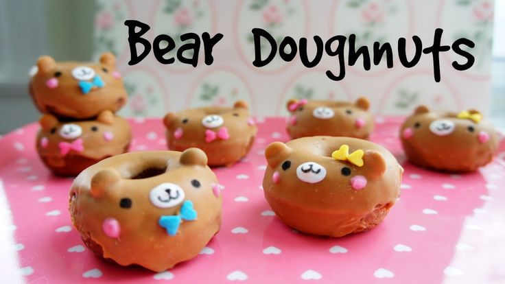 Learn how to make the cutest mini peanut butter glazed chocolate bear doughnuts with a on this special Valentine's Day Emmymade How-to. New videos everyMonda...