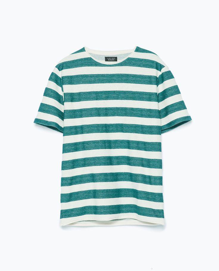 半袖Tシャツ--   ZARA 日本