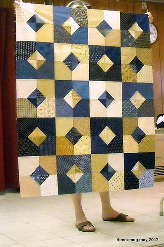 Chicago Modern Quilt Guild May 2012 | New member Diane's, ma… | Flickr