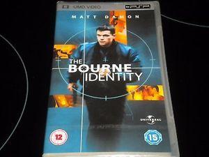a bourne identity umd video psp pal region 2 matt damon