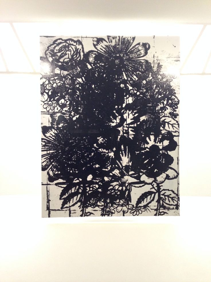 Christopher Wool painting