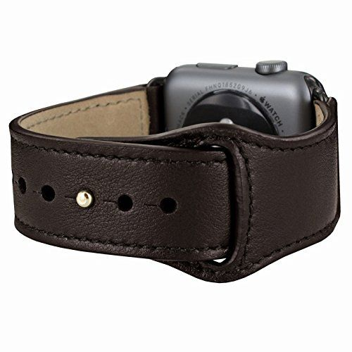 Piel Frama Armband Case for Apple Watch 42 mm - Brown. Fits wrists between 15-20cm in diameter. Introducing the Piel Frama Apple Watch leather wrist strap. This beautiful high quality leather strap will add style and elegance to your new Apple Watch.
