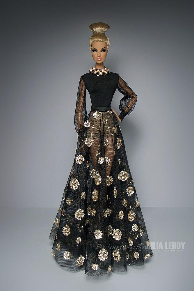 LUXE 70s Fleur Couture Dress SET For FR Nu Face By CULTE DE PARIS #CULTEDEPARIS