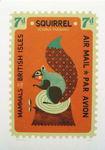 Pre-decimal UK stamp / by tom frost