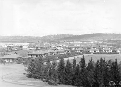 Title : View of Kingston and Manuka from the Kingston Power Station, Capital Theatre in the centre  Date : 1929 Primary subject : Not Assigned Secondary subject : Not Assigned Image no. : A3560, 5588 Barcode : 3160648 Location : Canberra Find other items in this series :  A3560 Series accession number : A3560