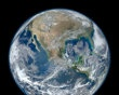 "At 8000 x 8000 pixels (full size image here), this ""Blue Marble"" image of the earth is NASA's highest resolution image to date. It was composited from several pictures taken from Suomi NPP, the newest earth-observing satellite.(NASA/NOAA/GSFC/Suomi NPP/VIIRS/Norman Kuring)"