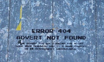 Making friends with the 404 page. An article I wrote for the Razorfish Scatter/Gather blog.