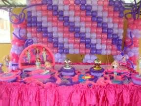 Barbie Party Table Decoration