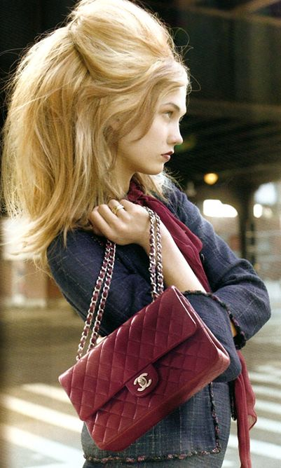 burgundy beauty by #Chanel