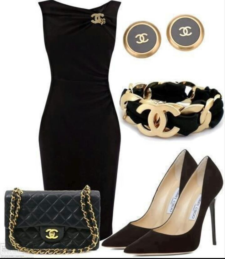 Love this classy outfit.