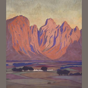 Jacob Hendrik Pierneef  Cape Farm