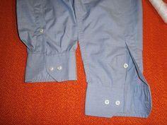 come accorciare le maniche di camicie da uomo classiche