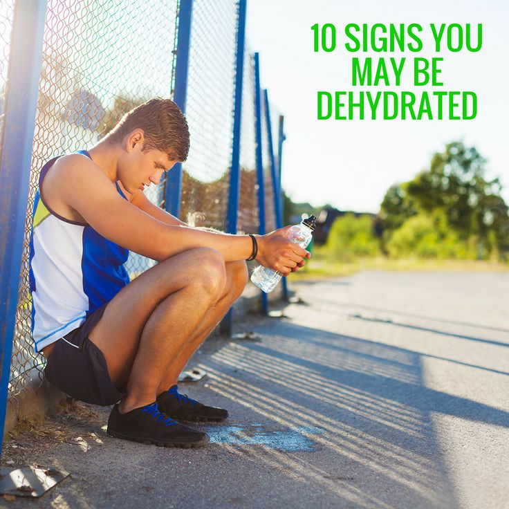 Not feeling 100%? The Aussie sun can quickly cause dehydration. Do you know the 10 signs to identify dehydration?