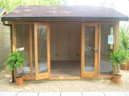 garden studio ~ this would work just fine!!!