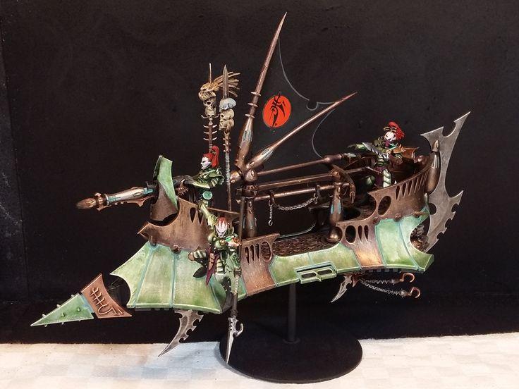 Warhammer 40.000 Dark Eldar Eldar Oscuri i modelli sono stati dipinti da me All the models are painted by me