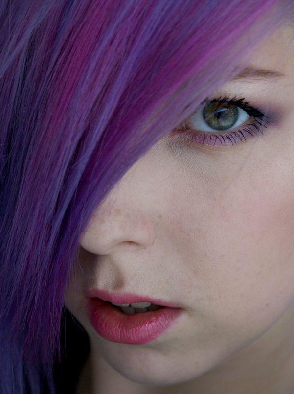 Dnešní Makeup: Neon Hair, Neon Eyes