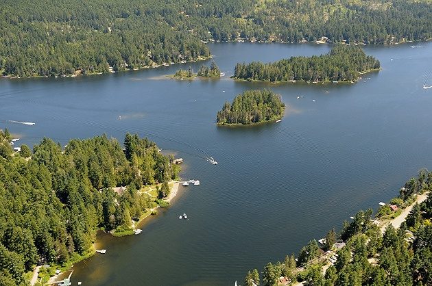 Shawnigan Lake, Cowichan Valley, Vancouver Island, British Columbia, Canada