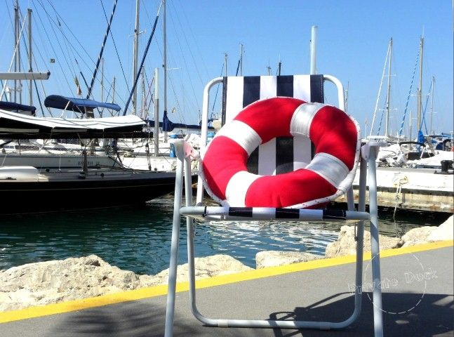 Lifebuoy Pillow www.privatedock.eu