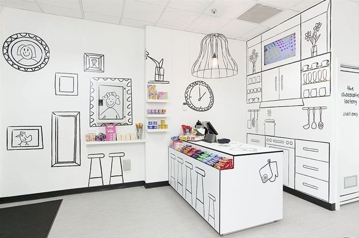 Candy Room shop in Melbourne | Designer: Red Design Group - http://reddesigngroup.com.au