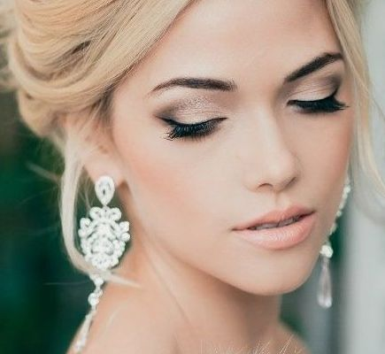 sophisticated bridal makeup